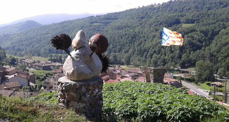 Mirador del drac - Camí de les Roquetes Vilallonga de Ter