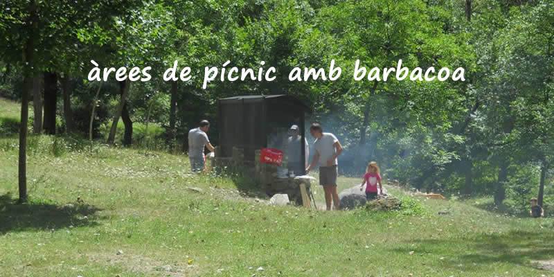Àrees de pícnic amb barbacoa