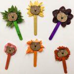 Melenes de lleons de colors naturals