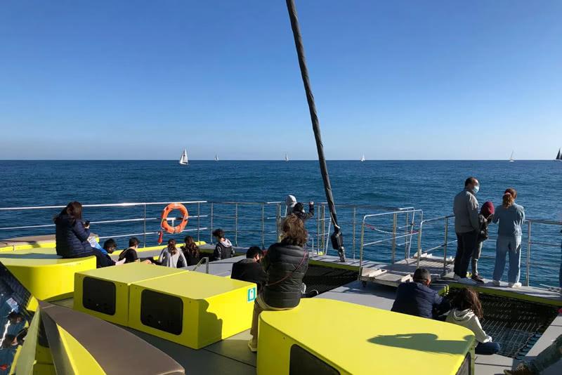 Passeig en catamarà Port de Barcelona