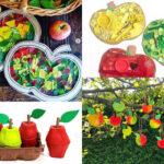 manualitats de tardor pomes